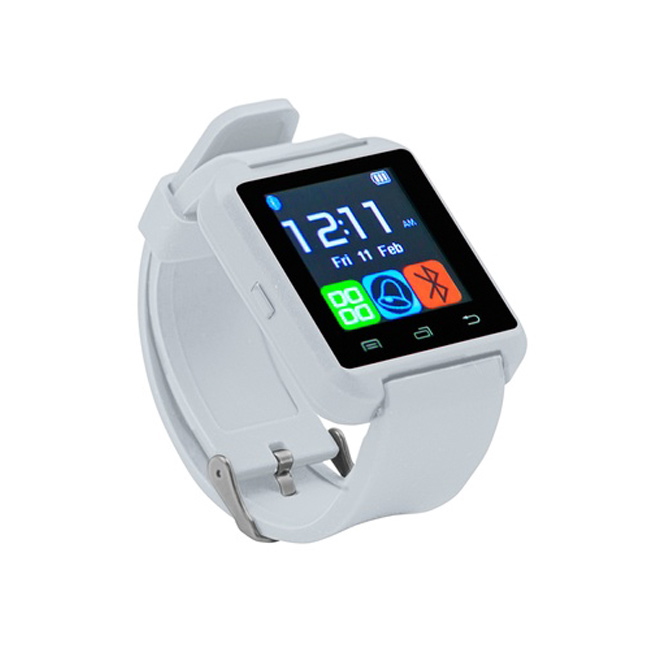 SMARTWATCH BLUETOOTH ANDROID IOS BIANCO U8B