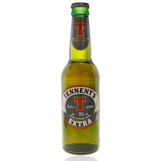 24 BIRRE TENNENTS EXTRA STRONG 9% 33cl 31/05