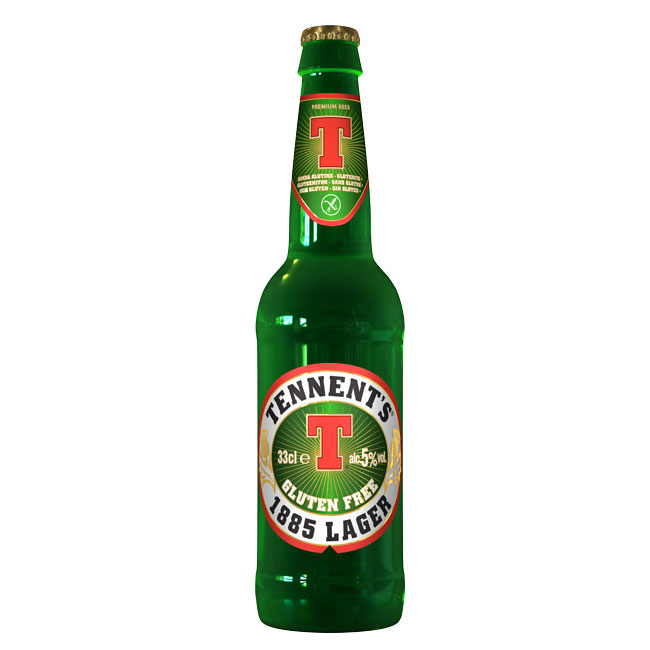 24 BIRRE TENNENTS LAGER GLUTEN FREE 5% 33cl 31/03